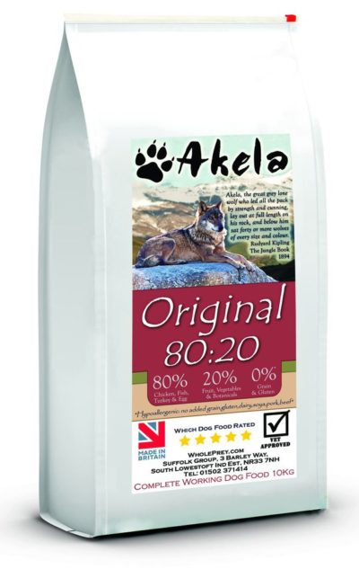 Akela Original 80:20 Dry Dog Food